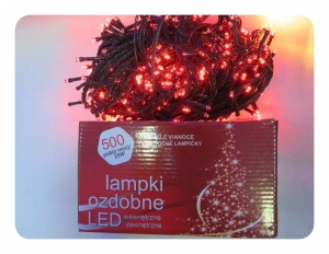 Lampki choinkę 35m.500 LED31113