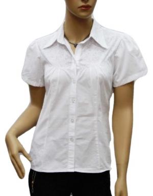 Koszula Damska Bawełniana Kr. Rękaw DW0830
