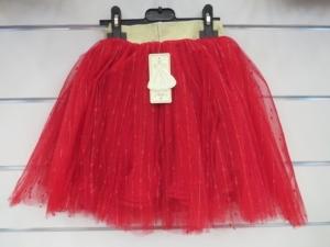 Spódnica świąteczna dziewczęca (4-14) KM12798