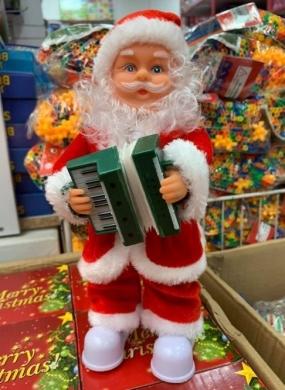 Mikołaj na baterie KM11379