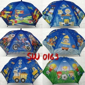Parasol laska półautomat dla dzieci KM12896