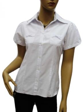 Koszula Damska Bawełniana Kr. Rękaw DW0822