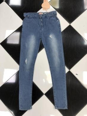 Spodnie Jeansowe Dziewczęce (134-164) TP506