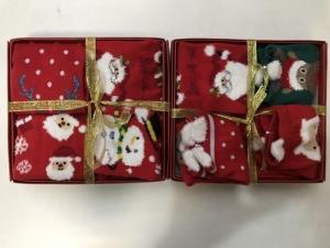 Skarpety świąteczne dziewczęce (1-12) KM13170