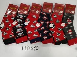 Skarpety świąteczne damskie (35-42) KM12942