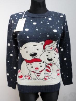 Sweter świąteczne damski (S/M-L/XL) KM11920