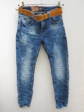 Spodnie jeansowe męskie (29-36) KM15872